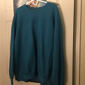 Shirts - Teal Sweatshirt